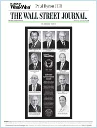 cover image of Marquis Who's Who/Wall Street Journal publication