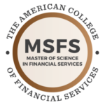 MSFS - Master of Science in Financial Services logo